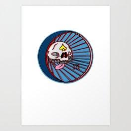 SKULLO Art Print