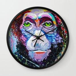 I'm chimpanzee! Wall Clock