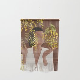Blooming Today Wall Hanging