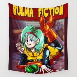 Bulma Fiction Wall Tapestry
