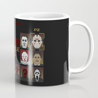 pennywise Mugs featuring Bloody Battle 3 by I.Nova