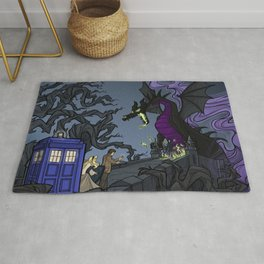 And Now You Will Deal with ME, O' Doctor Rug