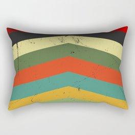 Grunge chevron Rectangular Pillow