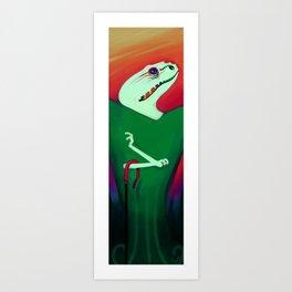 Reptile Style Art Print