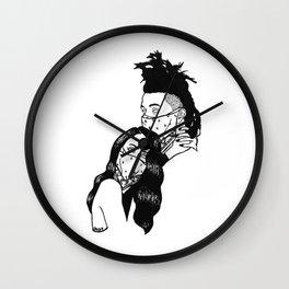 Mum and Dad Wall Clock