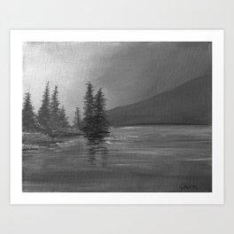 Grey Sky Morning Art Print