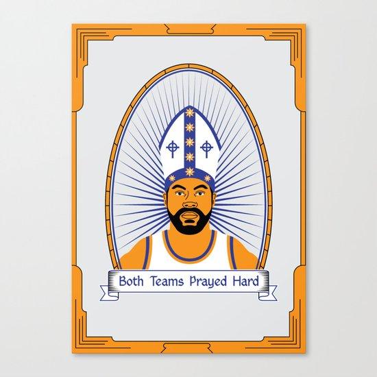 Both Teams Prayed Hard Canvas Print