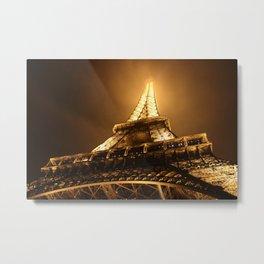 Ville des Lumières 3 Metal Print