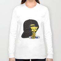 moschino Long Sleeve T-shirts featuring Moschino Tweety by Claudio Velázquez