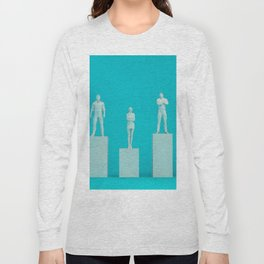 Climbing the Corporate Ladder and Rising Through the Ranks Long Sleeve T-shirt
