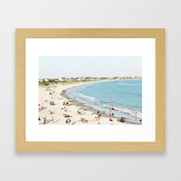 Galilee from Above Framed Art Print