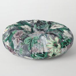 Floral Camouflage VSF016 Floor Pillow