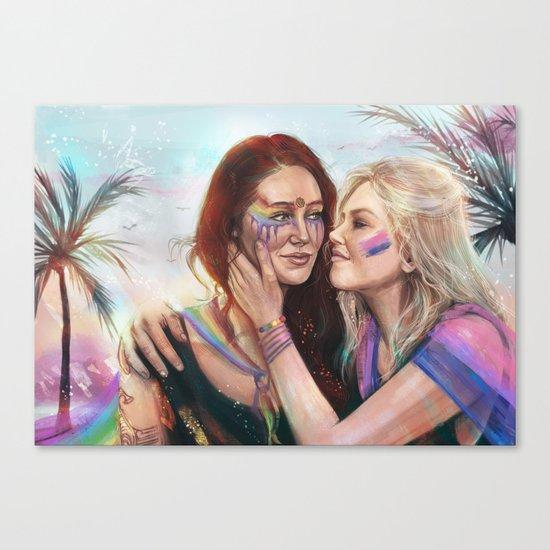 March with Pride ver 2 Canvas Print
