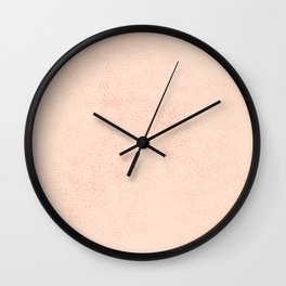 Sparkling blurry dots  no. 1 Wall Clock