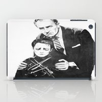 edward scissorhands iPad Cases featuring Edward Scissorhands  by moomoney