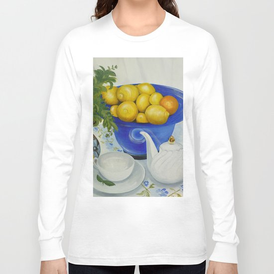 Lemon Tea Long Sleeve T-shirt