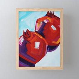 Pomegranates Framed Mini Art Print