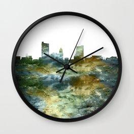 Fort Wayne Indiana Wall Clock