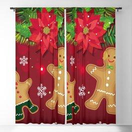 gingerbread man cookies Blackout Curtain