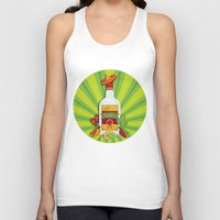 tequila Tank Tops featuring Tequila Time by Matt Andrews