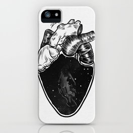 Inside your heart. iPhone Case