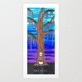 Cosmic Meditation (Sunset) Art Print