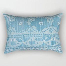 Floral Paisley Border Rectangular Pillow