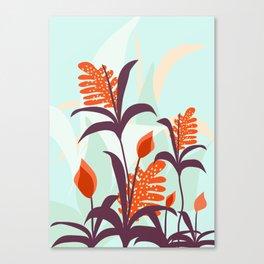 Orange Blooms #society6 #decor #buyart Canvas Print