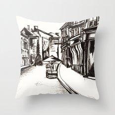 Stari Trg Throw Pillow