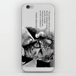 BUKOWSKI - people quote iPhone Skin