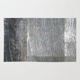 Grey wood Rug