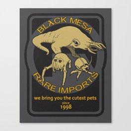 Black Mesa Rare Imports Canvas Print