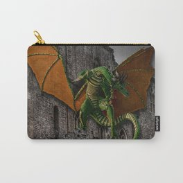 Dragon & Castle Artwork Carry-All Pouch