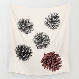 Pine cones Wall Tapestry