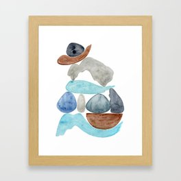 as high as possible Framed Art Print