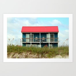 Coastal Home Art Print