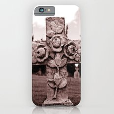 Cross of roses Slim Case iPhone 6s