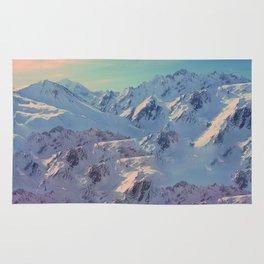 Langtang's Peaks Rug