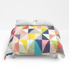 Abstract Geo Diamonds Comforters