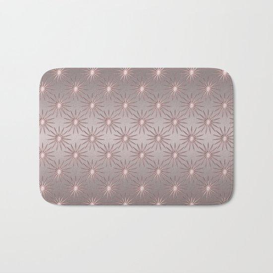 elegant Star shine soft pink Bath Mat