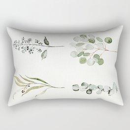 Eucalyptus Branches Rectangular Pillow