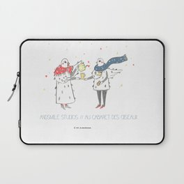 If i were a brid by Andsmile studios Laptop Sleeve