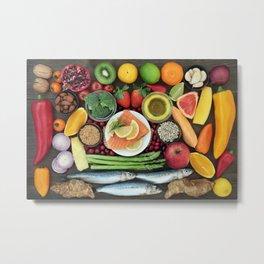 Health food Metal Print