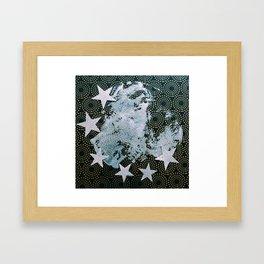 Full Frost Moon Framed Art Print