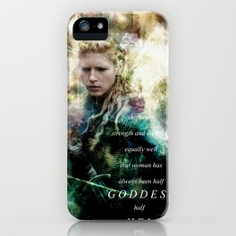 Half Goddess iPhone Case