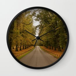 Limetree Avenue Wall Clock