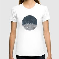 the moon T-shirts featuring Moon by Chris Redford