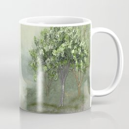 Misty Woodland Stream Coffee Mug