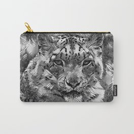 AnimalArtBW_Leopard_20170601_by_JAMColorsSpecial Carry-All Pouch