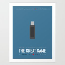 The Great Game Art Print
